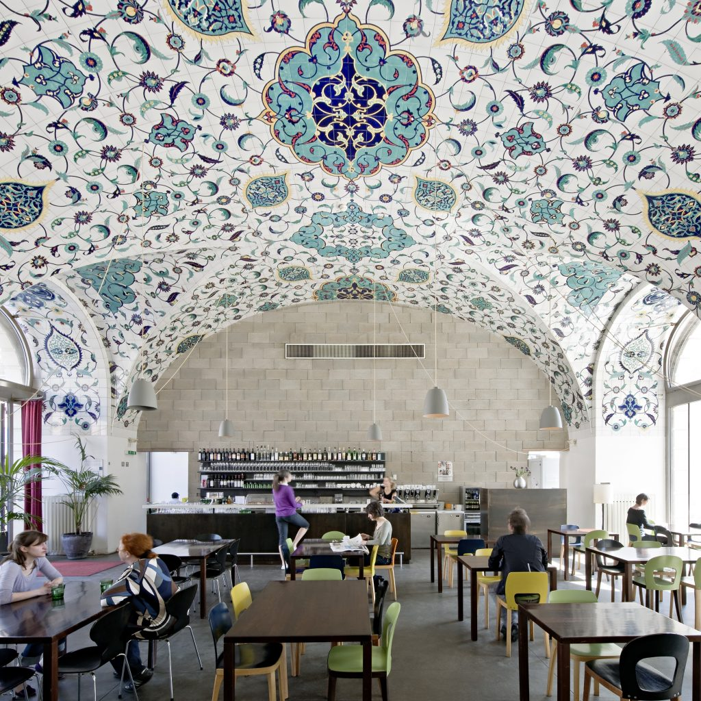 Caf restaurant corbaci architekturzentrum wien for Design schule wien