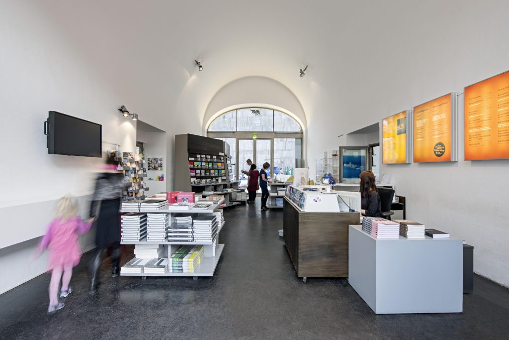 The shop in the Architekturzentrum Wien