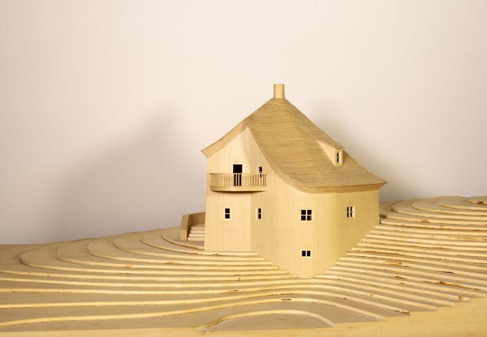 Architectural model of Settari House