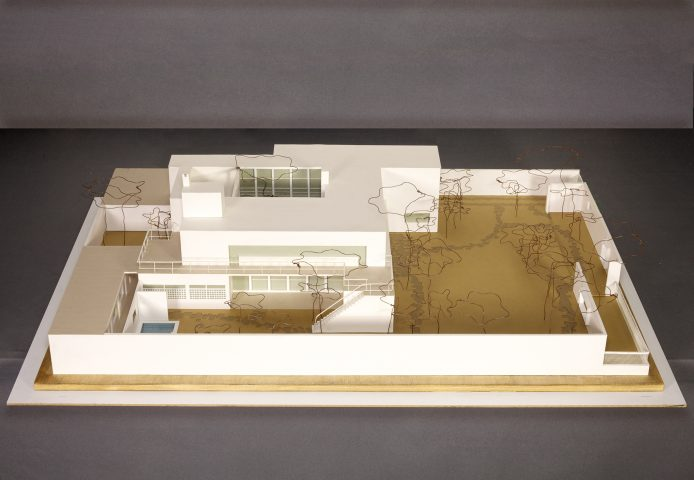 Architectural model of Frontini House