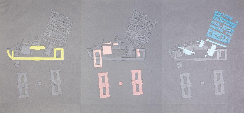 Site plan of Museumsquartier, Vienna