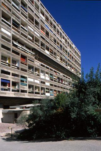 Außenaufnahme Unité d'Habitation