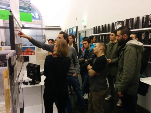 Guided tour of the a_show exhibition