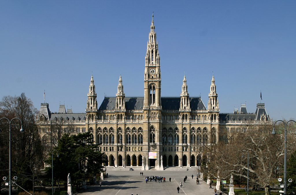 View of Vienna City Hall