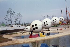 Spielplatz mit Kugeln