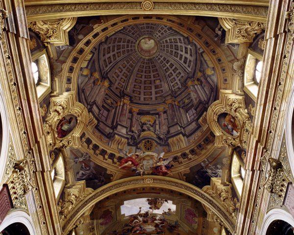 Kuppel in der Jesuitenkirche