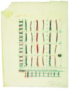 Skizze einer Siedlung