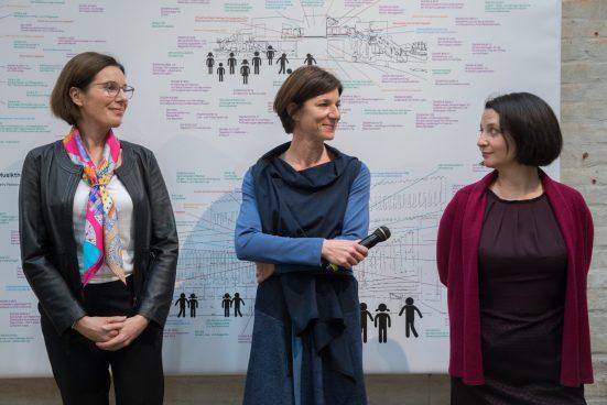 Three smart women