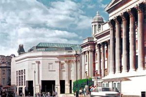 Außenansicht National Gallery London