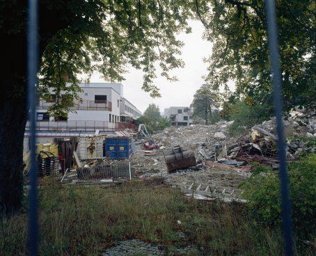 Abbruch eines Gebäudes