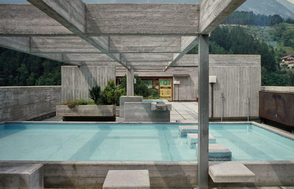 Dachterrasse mit Swimmingpool