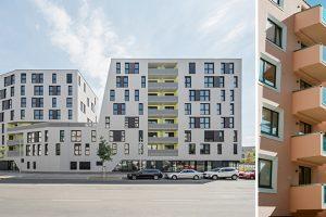 2 Außenansichten von Gebäuden
