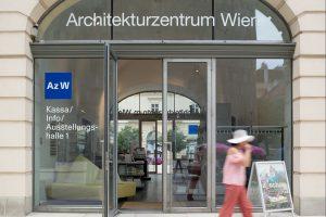 Eingang Architekturzentrum Wien