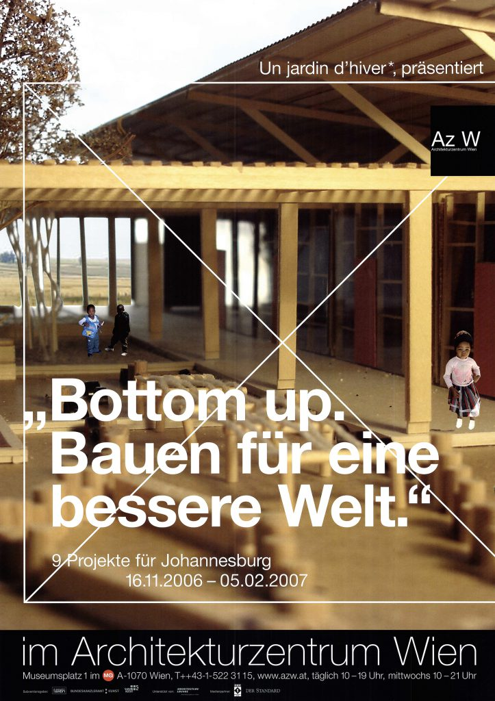 D Exhibition Design : Un jardin d hiver presents u cbottom up building for a better