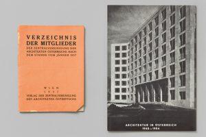Zwei Buchcover nebeneindander