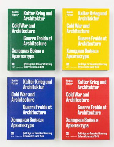 Buchcover in grün, gelb, blau und rot