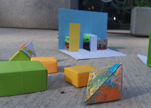 handmade colorful boxes