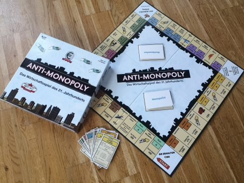 The Anti-Monopoly Game