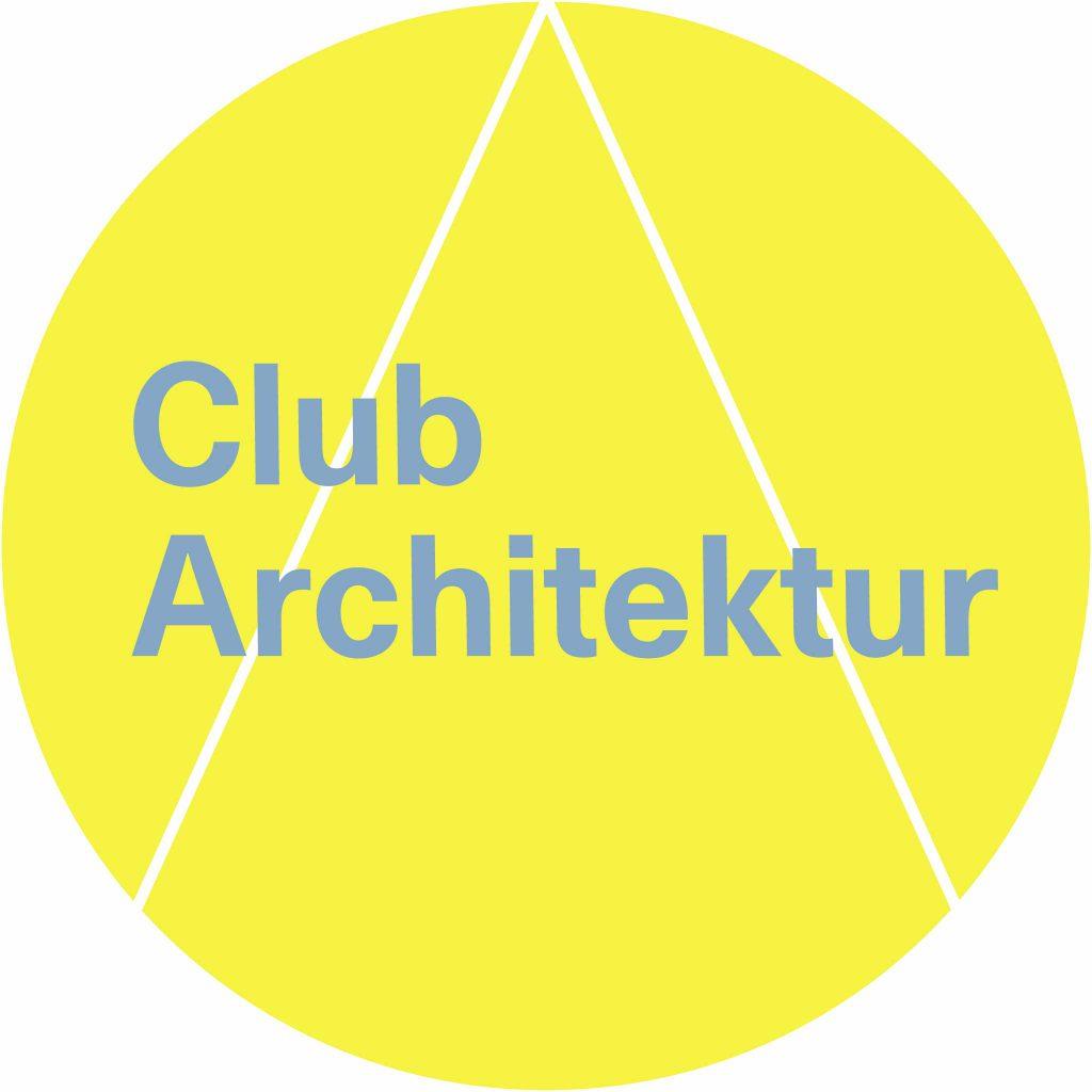 Logo Club Architecture yellow/blue